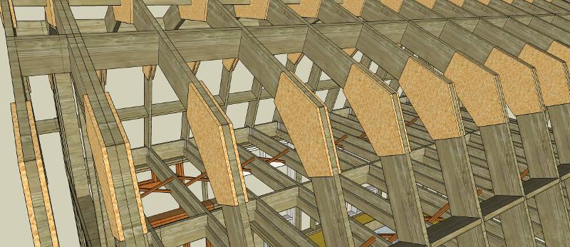 Pictures of a 16x24 metal cabin joy studio design for 16x24 garage kit