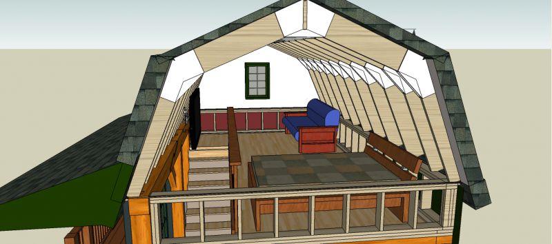 16x24 timber frame cabin joy studio design gallery for 16x24 garage kit