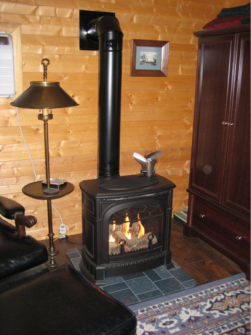 Vermont Casting Gas Stove Small Cabin Forum