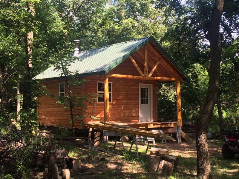 16x24 wood camp joy studio design gallery best design for Camp joy ohio cabins
