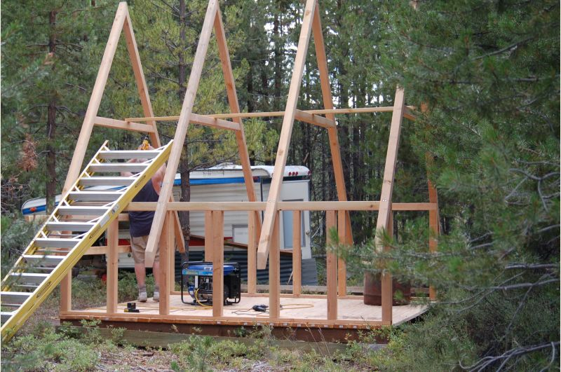 Average cost of building a small cabin small cabin forum for Cost to build a cabin