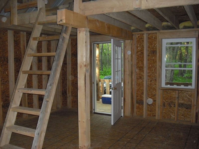 Redfield ny 16 x 20 hemlock small cabin forum 1 for Pictures of small hunting cabins