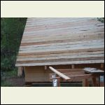 sub roof planks