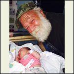 grandpa's loving baby