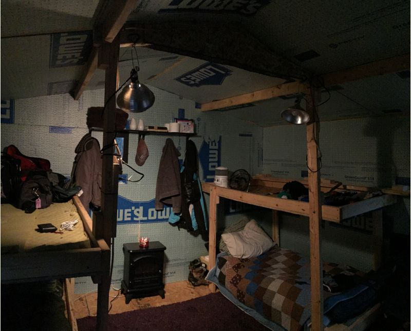 12x12 Low Cost Portable Cabin Small Cabin Forum