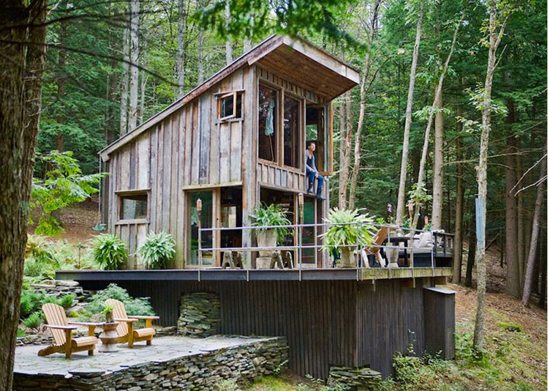 Shed roof cabin with loft small cabin forum for Shed roof cabin with loft