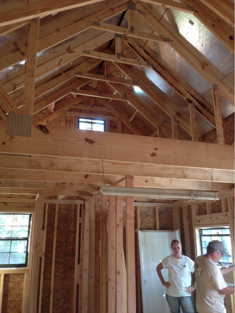 New Alabama 12x20 Cabin With Loft Small Cabin Forum 1