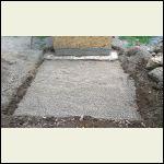 """6"""" Gravel Base (pre tamping)"""