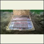 "Rebar & Mesh in-place, just need the 1/2"" PEX"