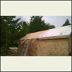 South Roof insulated