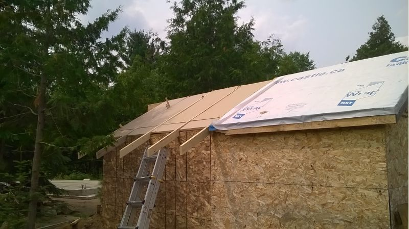 Cabin Build Underway 2015 Small Cabin Forum 2