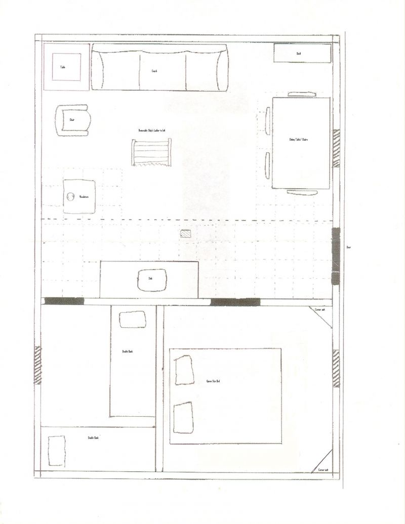 16x24 floor plan help small cabin forum for Small cabin floor plans free