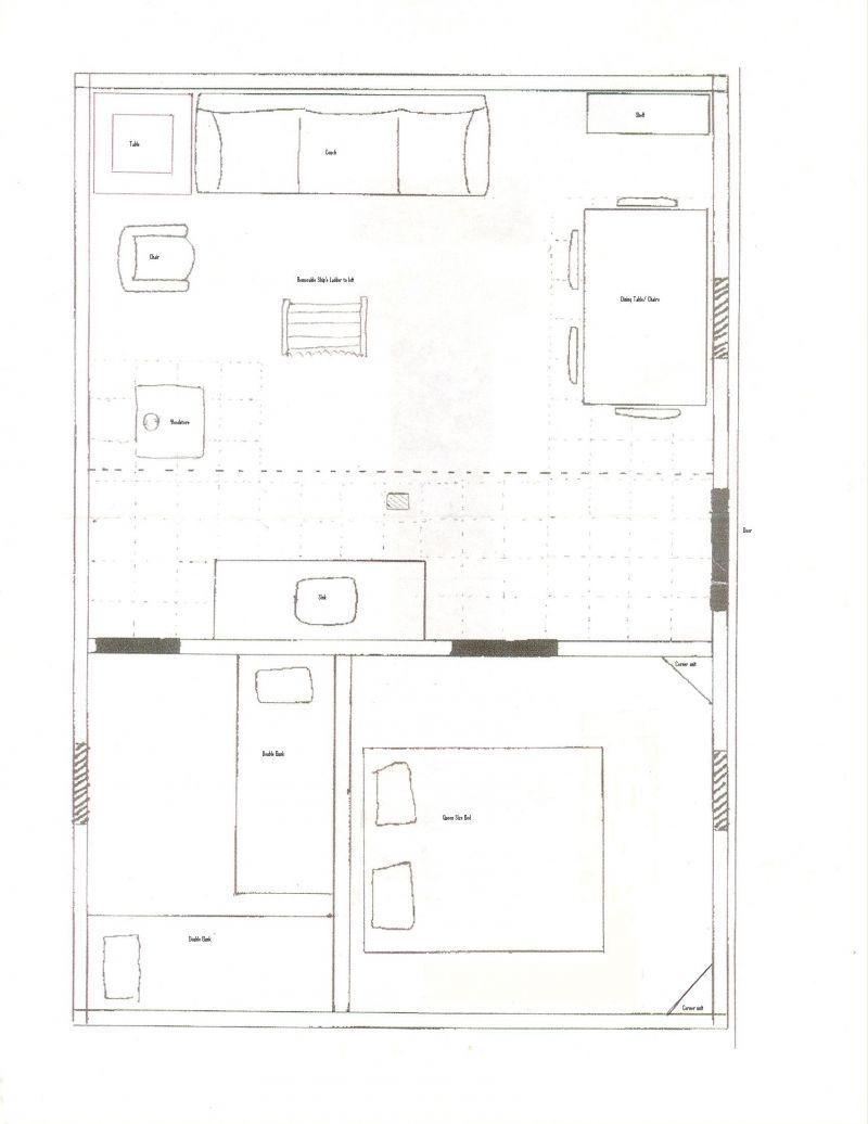 Stupendous 16 X 24 Cabin Floor Plans Plans Diy Free Download Building Wooden Largest Home Design Picture Inspirations Pitcheantrous