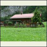 Swiss roof, snow stops