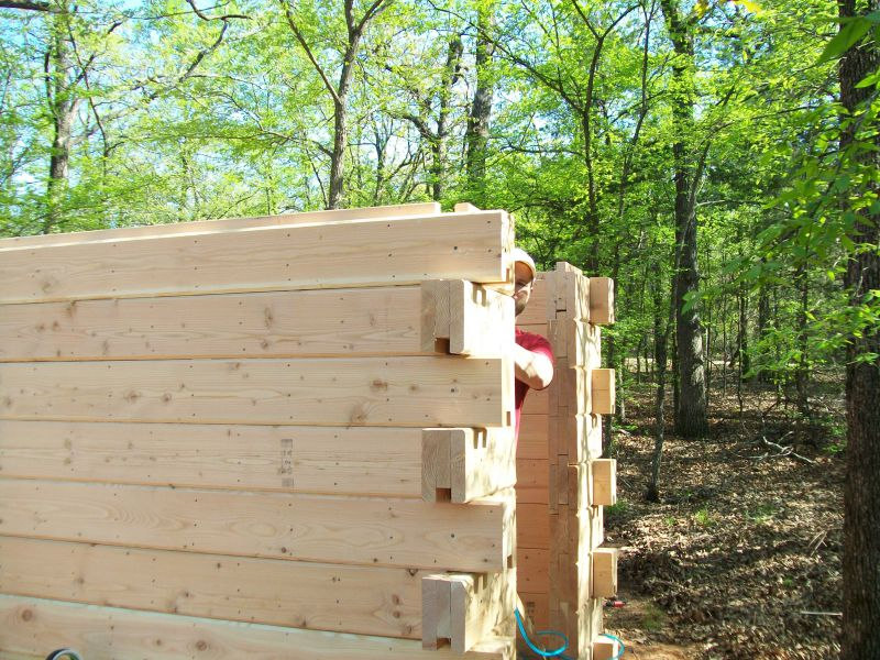 Easy and cheap log cabin small cabin forum 6 for 2x6 log siding