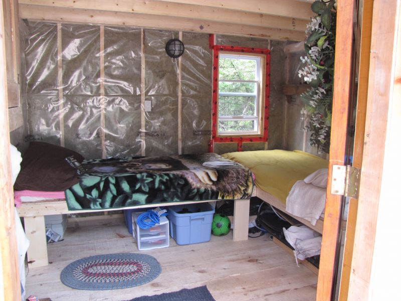 Vapor barriers small cabin forum 1 for 10x10 square feet