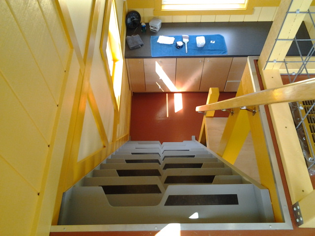Space Saving Loft Stairs Small Cabin Forum