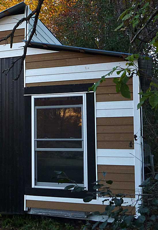 Exterior window trim small cabin forum for Exterior 1x4 trim