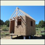 Sheathing and rafters