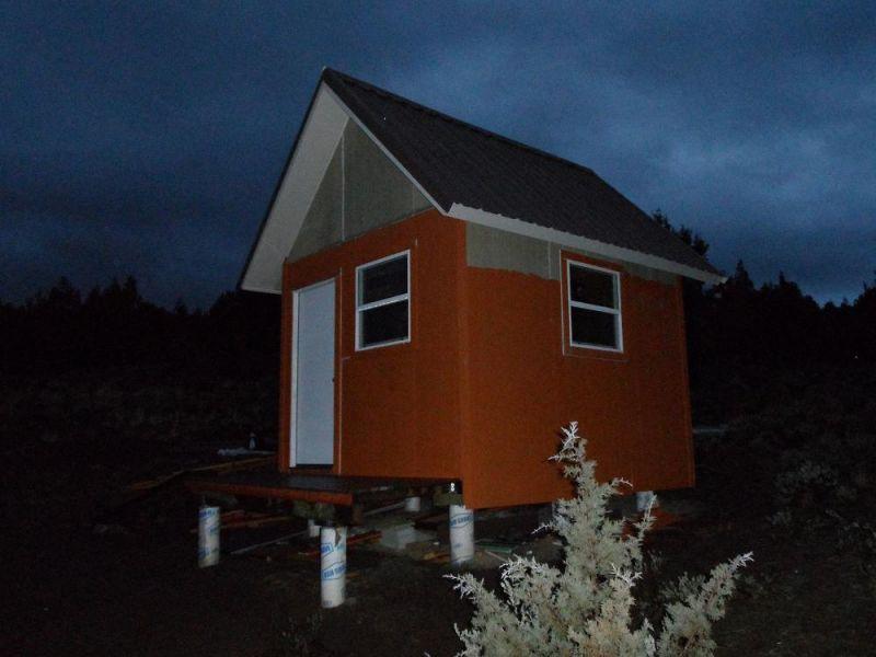 10x12 Shed w/loft - Small Cabin Forum (1)
