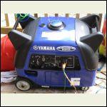 Love my Yamaha EF 3000 ISE