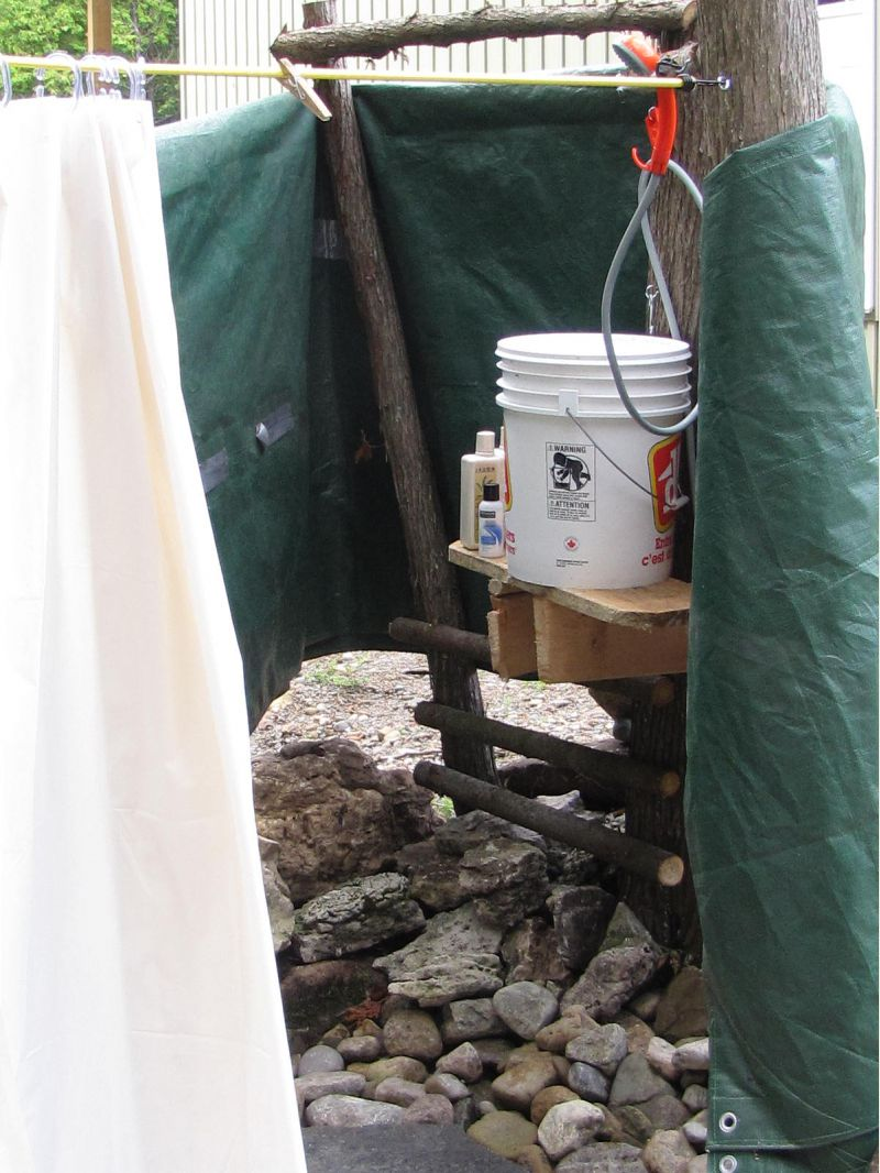 Zodi Shower Heads : Cool shower option for off grid small cabin forum