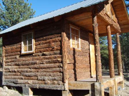 Chinking for new build small cabin forum for Log slab siding