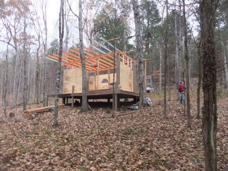 One Redneck Appalachian Mountain Side Cabin Small Cabin