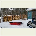 Firewood - dry juniper