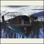 Our cabin winter