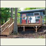 Island Bunkie - Exterior finished