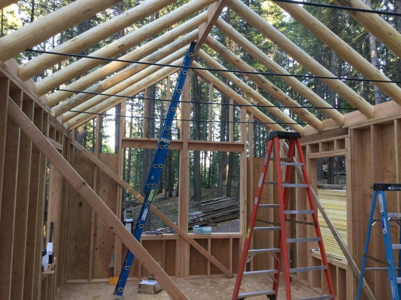 Ridge Beam Small Cabin Forum