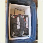 Inside the battery box.