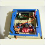 DC converter display faces wall