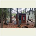 Outhouse still passes wife's annual inspection!