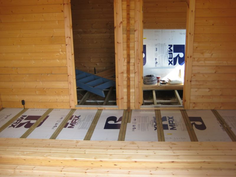 Floor Insulation Some Advise Please Pic Small Cabin