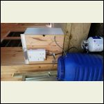 Water barrel and hot water heater