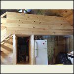 finished overhang