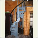 compact spiral stairs