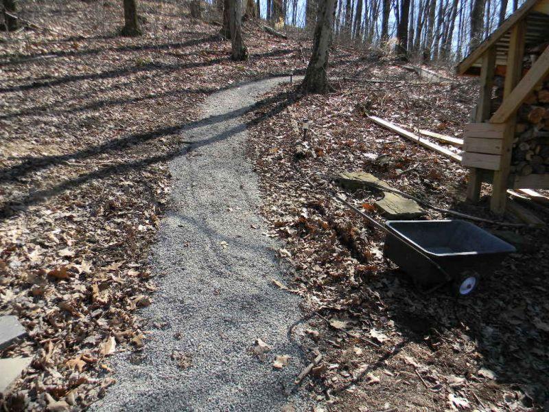 Slippery Gravel Driveway- Cheap Fix? - Small Cabin Forum