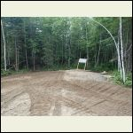 Expanded driveway