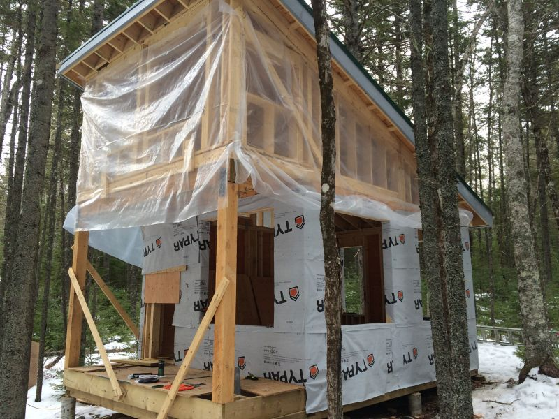 Single Pitch Roof Insulation And Venting Small Cabin Forum