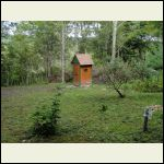 My outhouse in the woods