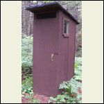 Small Cabin Outhouse