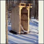Stump Ranch Outhouse - Redesigned based on orders from the boss!