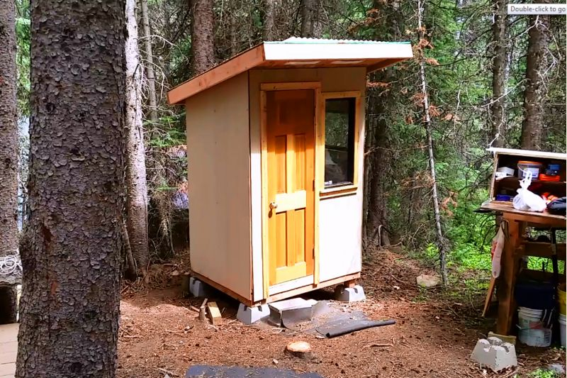 Share Your Outhouse Pics Small Cabin Forum 9