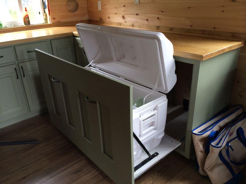 Rotomolded Cooler Vs Propane Refrigerator Small Cabin Forum