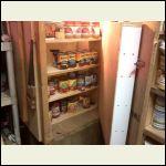 Second shelf in closet