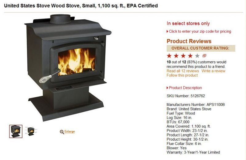 Wood Burning Stove Tractor Supply WB Designs - Tsc Wood Stoves WB Designs