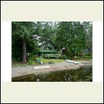 my childhood home on lake